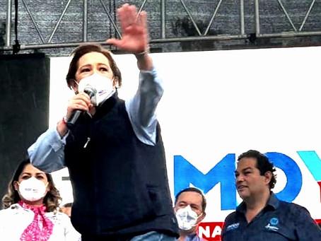 Angélica Moya podría obtener una victoria histórica en Naucalpan