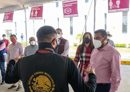 Darwin Eslava, anuncia el inicio de Jornada de Vacunación contra COVID, en Coacalco