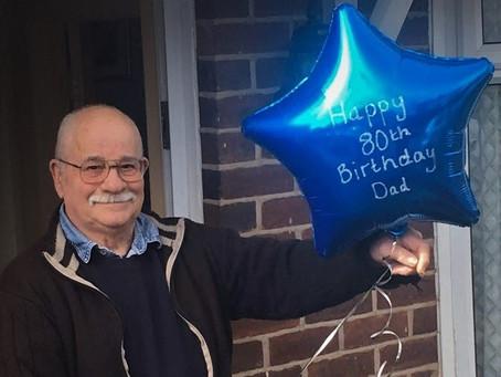 My 80th Birthday