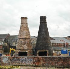 Bottle Oven Chimneys