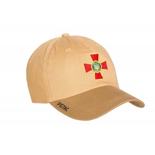 "Бейсболка з логотипом P1G-Tac® ""Нацiональна Гвардiя"" (Flexfit)"