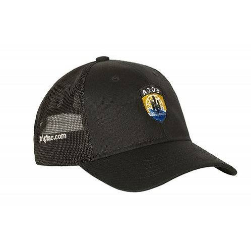 "Бейсболка з логотипом P1G-Tac® ""АЗОВ"" (сітчаста вставка)"