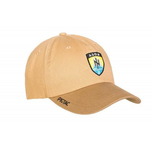 "Бейсболка з логотипом P1G-Tac® ""АЗОВ"" (Flexfit)"