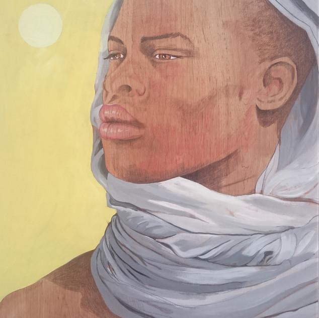 El Africano. 123x90 cm