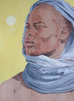 El africano.