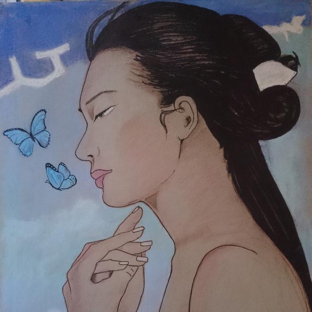 me lavo la manos y exhalo mariposas.
