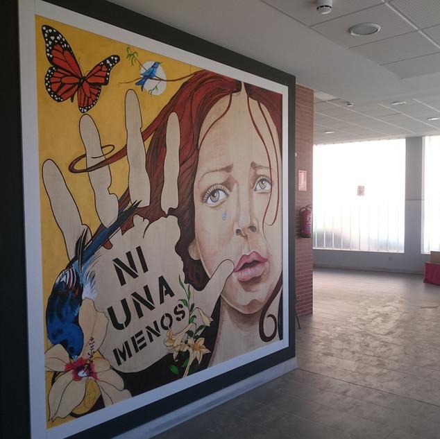 Mural Violencia de Género