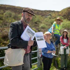 Landscape Archaeology Field trip with Peter Herring