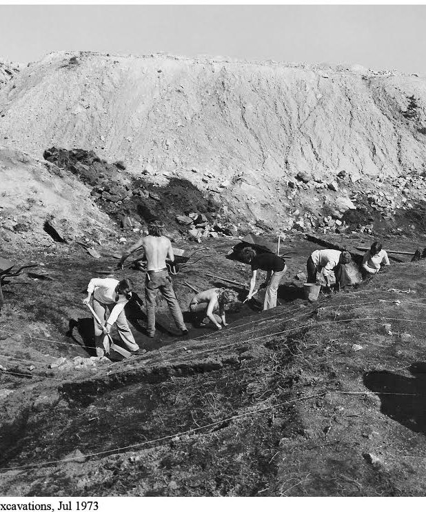 © Wheal Martyn Archives Excavations at W