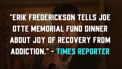 Times Reporter - Erik Frederickson