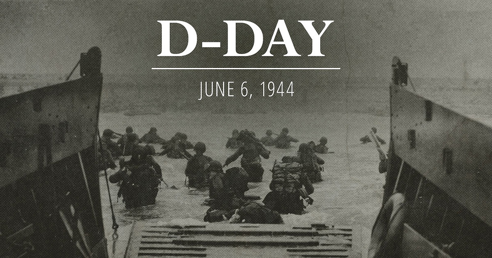 D day June 6th 1944