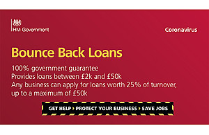 NEW! Bounce Back Loans available from 4 May 2020
