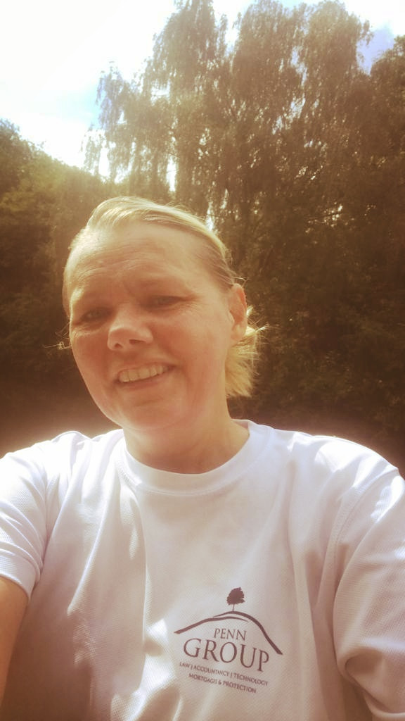 Irina is running her first solo half marathon for VIA Charity with Penn Group, Virtual Run