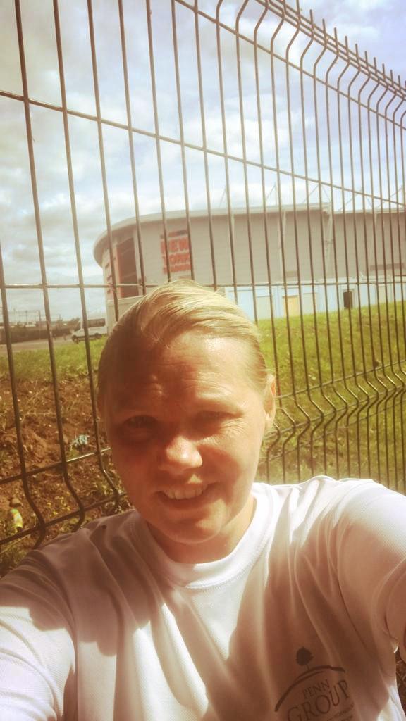 Irina Inayat running for the Penn Group, Virtual run for VIA Charity