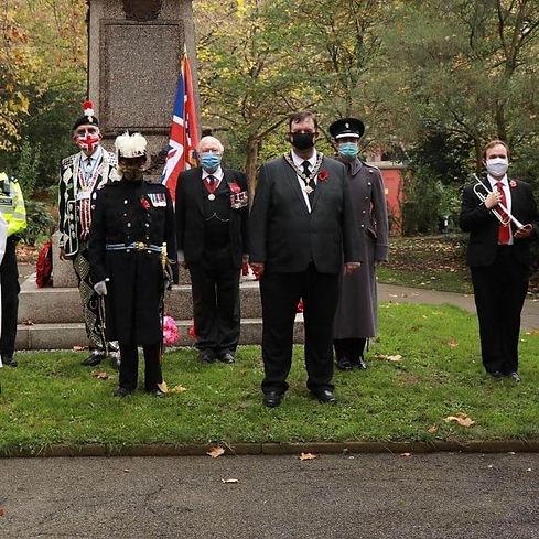 Islington Veterans Rememberance Sunday 2