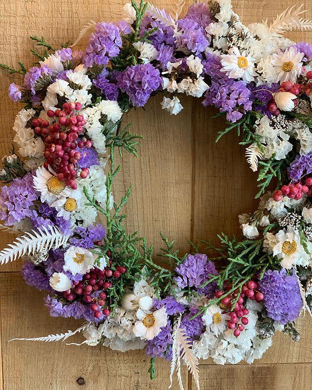 ・ドライフラワーリース・___sadayuki_joushima_flower_