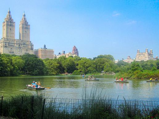Dakota & Central Park Pond