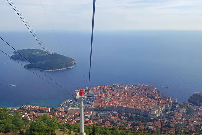 Top of Srđ Mountain