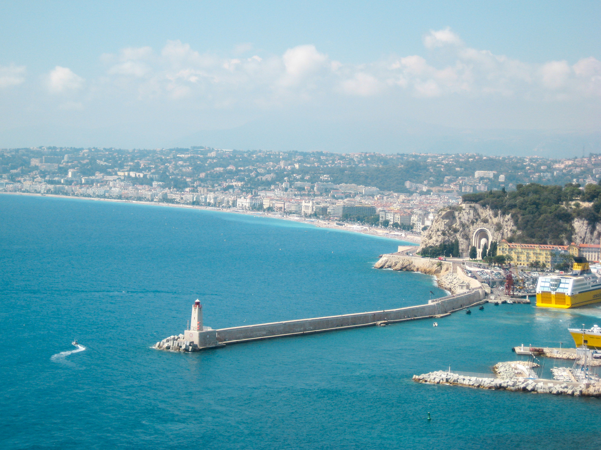 View of Phare de Nice Lighthouse
