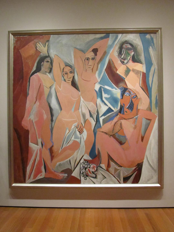 Pablo Picasso - Les Demoiselles Davi