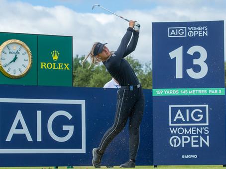 46 ANNIKA Alum Take On Carnoustie For AIG Women's Open