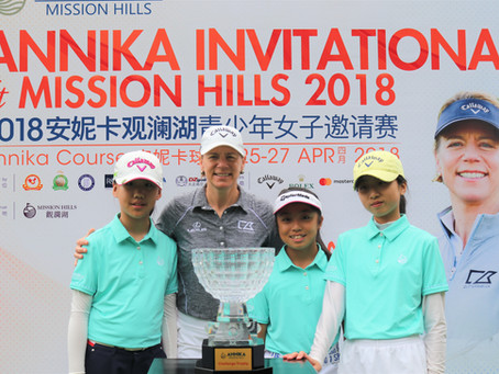 ANNIKA Invitational at Mission Hills Returns to China