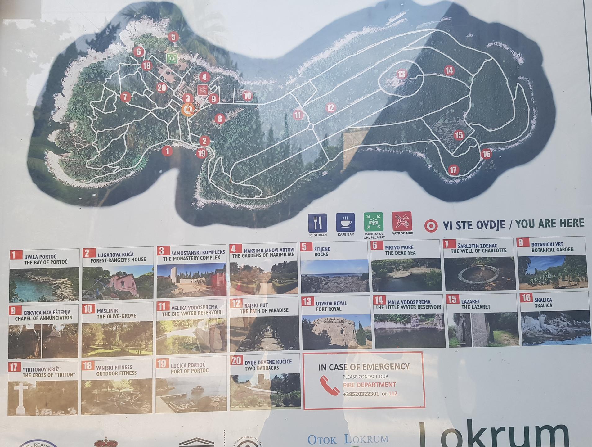 17 Island Map