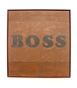 Edward Ruscha - Boss, 1961