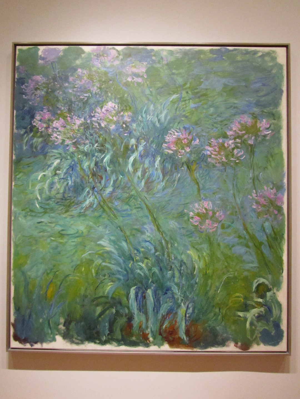 Claude Monet - Agapanthus