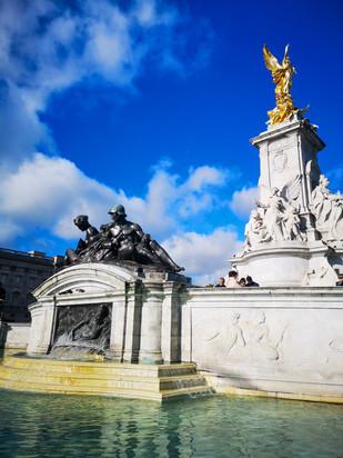 The Queen Victoria Memorial (Buckingham Palace)