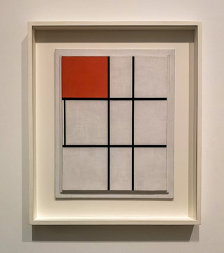 'Composition b (no.ii) with Red', Piet Mondrian, 1935