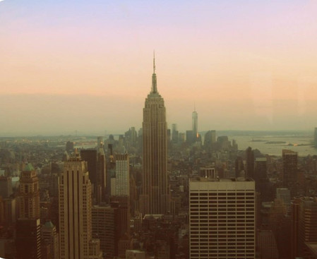 View from Rockefeller Observation Deck