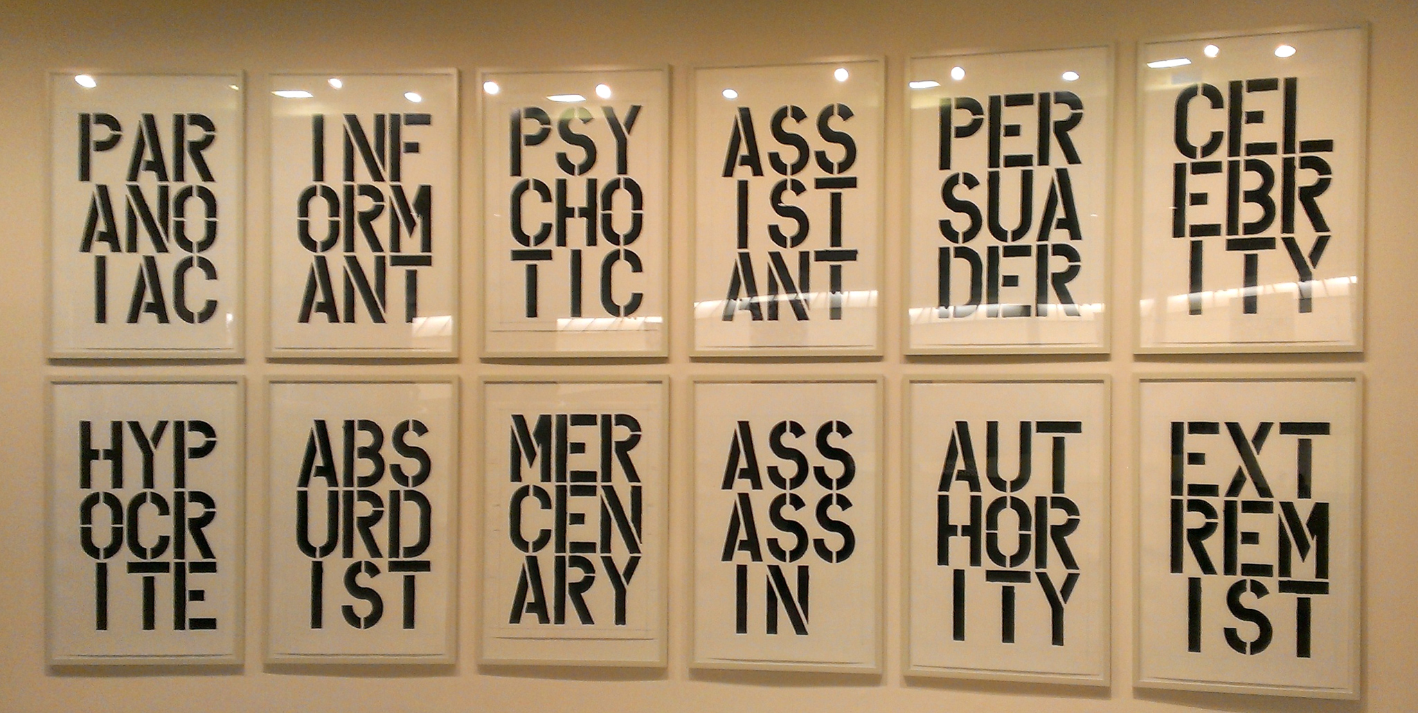 Christopher Wool Expo