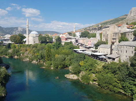 View from Old Bridge (Stari Bridge)
