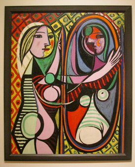 Picasso - Girl before a Mirror