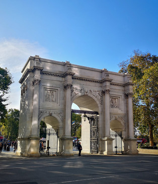 Marble Arch (not officially part of Hyde Park though)