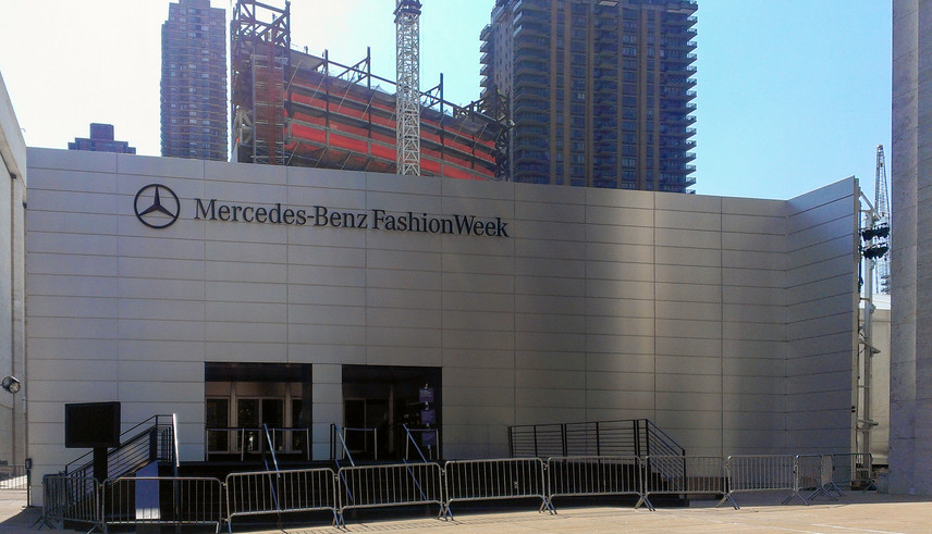 Fashion Week at Lincoln Center