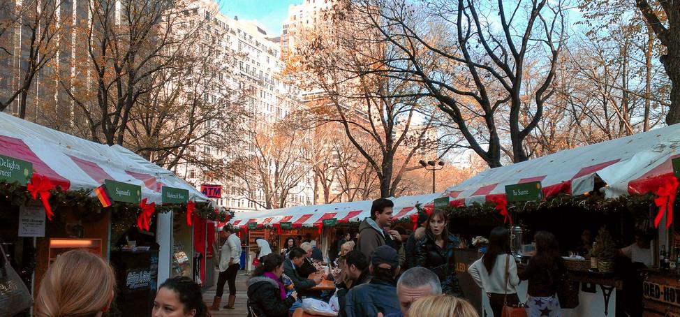 Central Park - Holiday Market