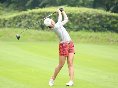 Inagaki grabs lead after second round at the ANNIKA Invitational in China