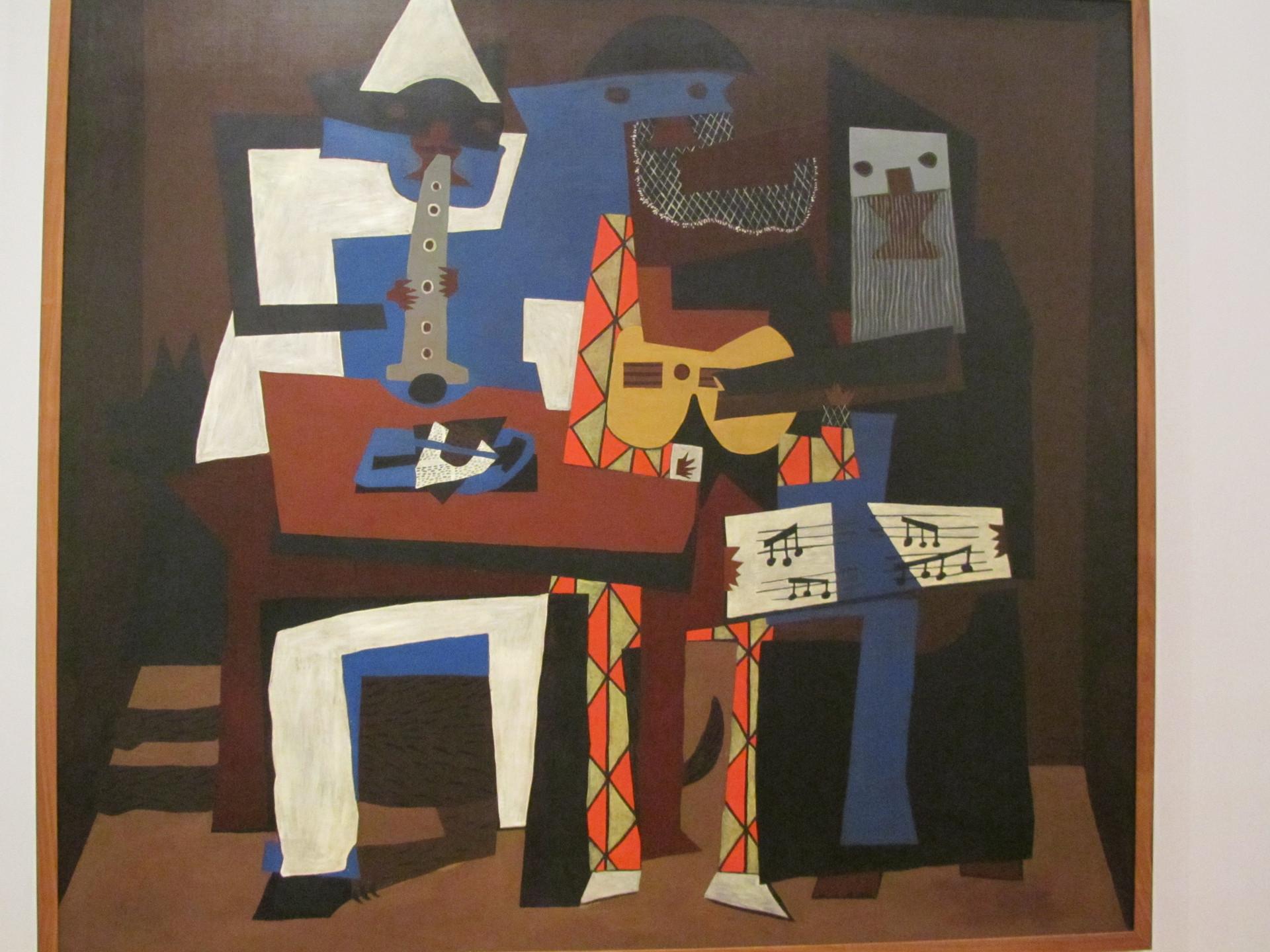 Pablo Picasso - Three Musicians