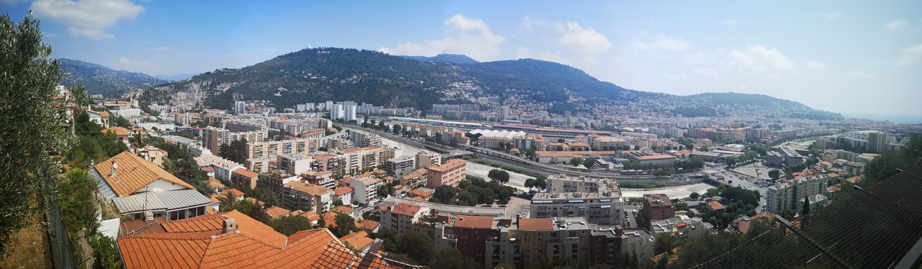 View from Cimiez Gardens