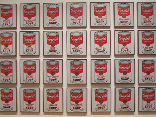 Andy Warhol - Campbell's Soup Cans
