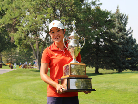 Lee Continues Showcasing Her Talents In The Golf Industry - Somin Lee MTG Series