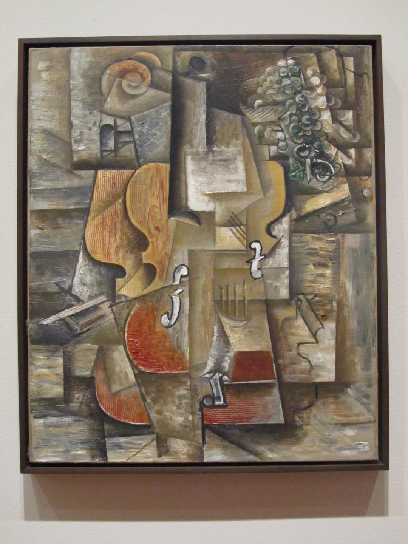 Pablo Piccasso - Violin & Grapes