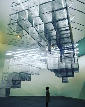 'Sol LeWitt Upside Down', Haegue Yan, 2015