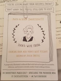 Jacks Wife Freda