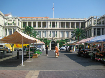 Place Pierre Gautier Nice (beside Saleya Market)