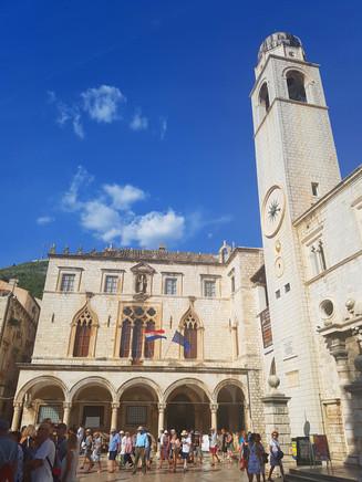 Sponza Palace & Clocktower
