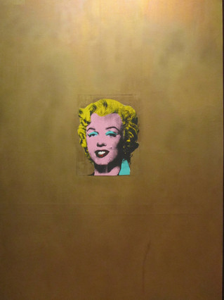 Andy Warhol - Gold Marilyn Monroe