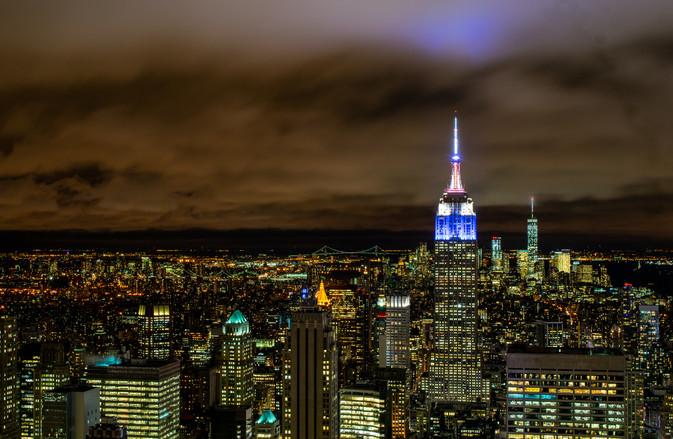 View from Rockefeller Observation Deck